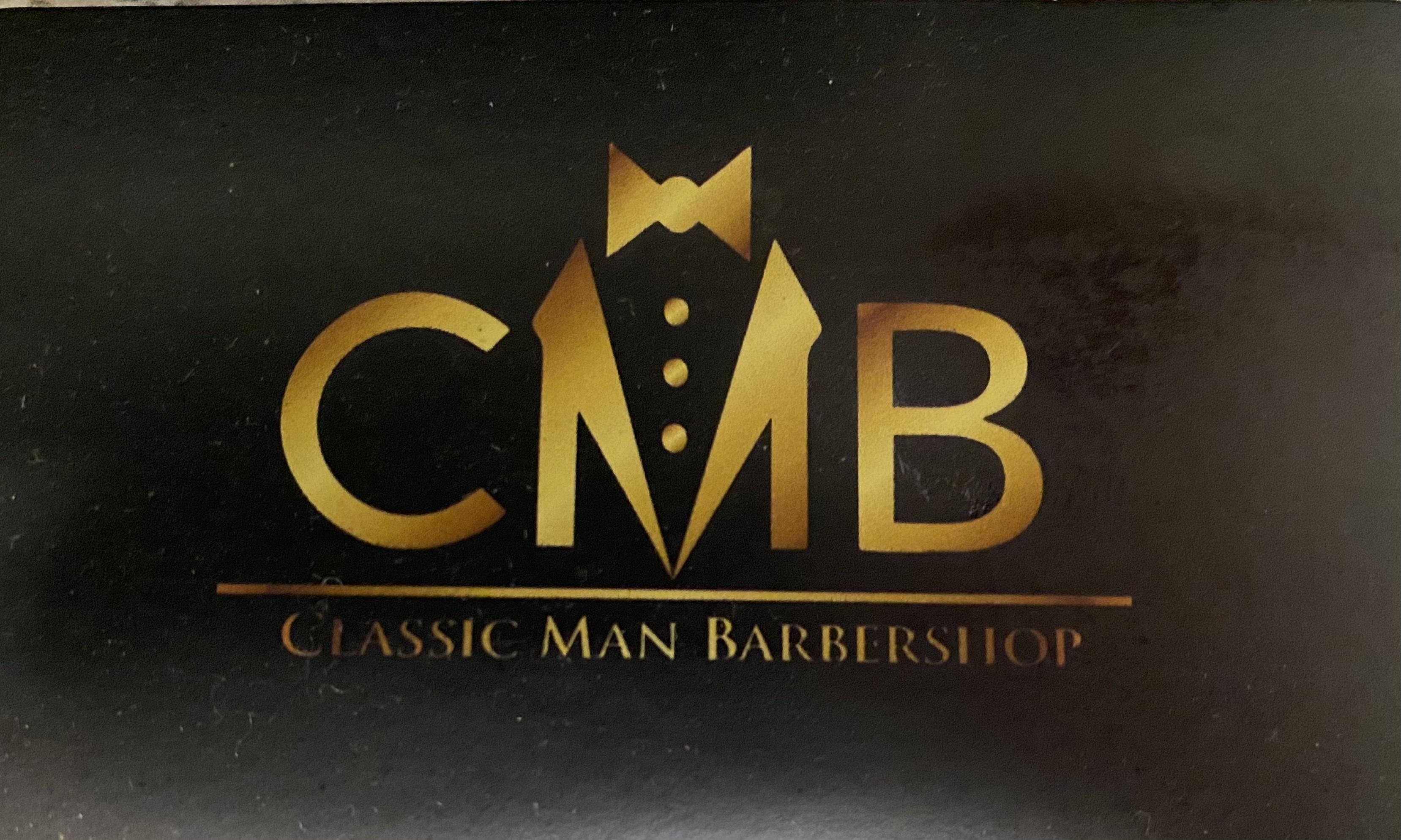 Classic Man Barbershop company logo